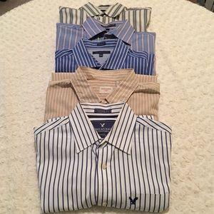 Bundle of 5 Men's Dress Shirts